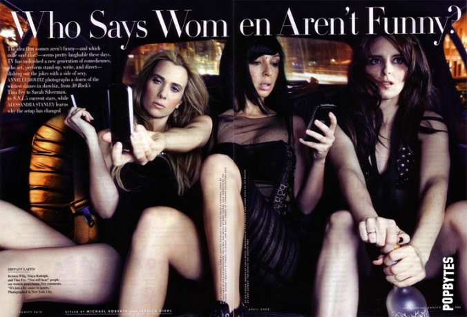 Vanity Fair, April 2008 cover